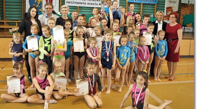 Ogólnopolskie Zawody w Akrobatyce Sportowej i Skokach na Ścieżce dzieci  i młodzieży 2014
