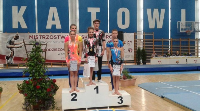 Mistrzostwa Polski Juniorów z medalami !