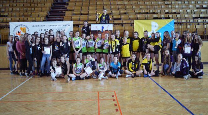 Młodzieżowy Festiwal siatkówki 2016- Turniej Młodziczek