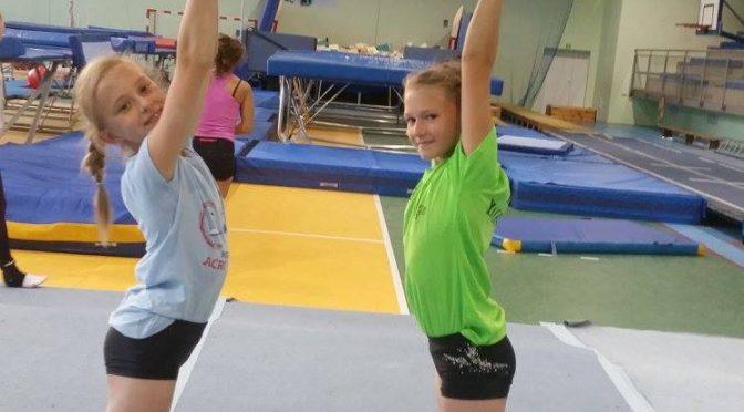 Akrobatyka sportowa- harmonogram treningów