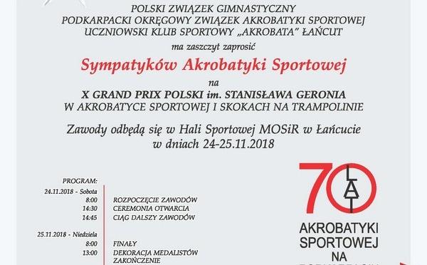 Akrobatyczne Grand Prix w Łańcucie