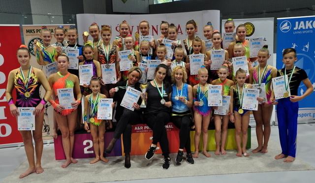 25 (+3)  medali  zdobytych na zawodach w Świdnicy!
