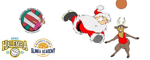 Turniej mikołajkowy Młodzieżowej Akademii Siatkówki